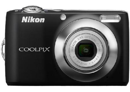 Nikon - COOLPIXL22BLK - Digital Cameras