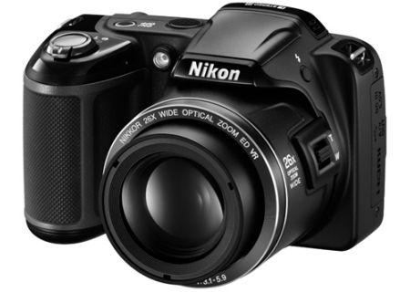 Nikon - COOLPIXL810BLK - Digital Cameras