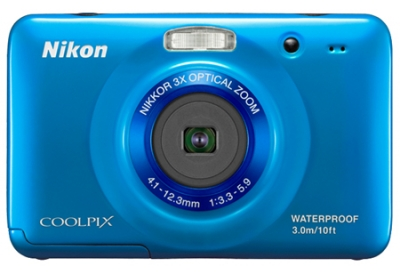 Nikon - COOLPIXS30BLUE - Digital Cameras