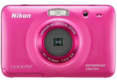 Nikon - COOLPIXS30PINK - Digital Cameras