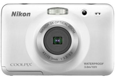 Nikon - COOLPIXS30WHITE - Digital Cameras