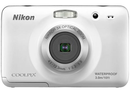 Nikon - COOLPIXS30WHITE - Digital Cameras