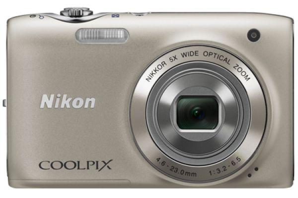 Nikon COOLPIX S3100 Silver 14 Megapixel Digital Camera - 26262