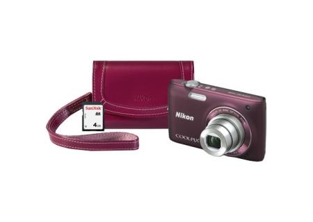 Nikon - COOLPIXS4100PLMDKIT - Digital Cameras