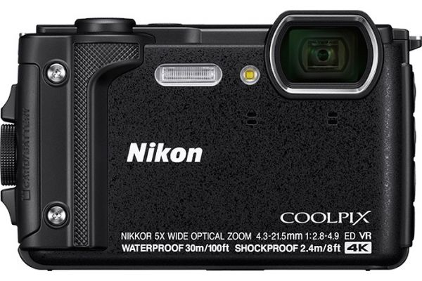Large image of Nikon Coolpix W300 Black 16.0 Megapixel Waterproof Digital Camera - 26523