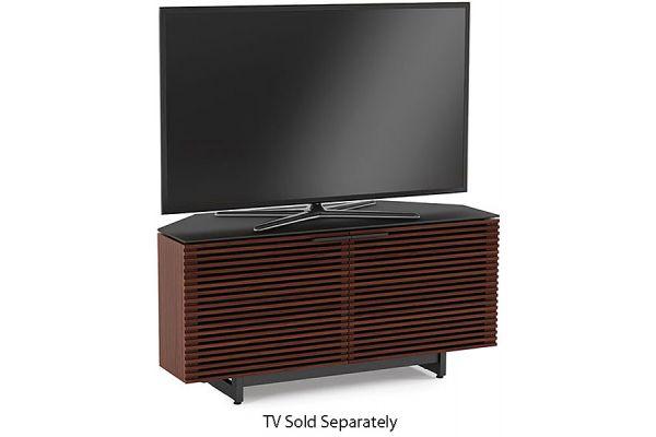 Large image of BDI Corridor 8175 Chocolate Stained Walnut TV Stand - CORRIDOR8175CWL