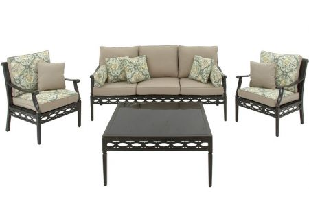 Hanover - CORTEZ4PC - Patio Seating Sets