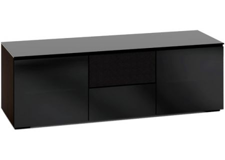 Salamander Designs Black Glass TV Stand - C/OS236/BG