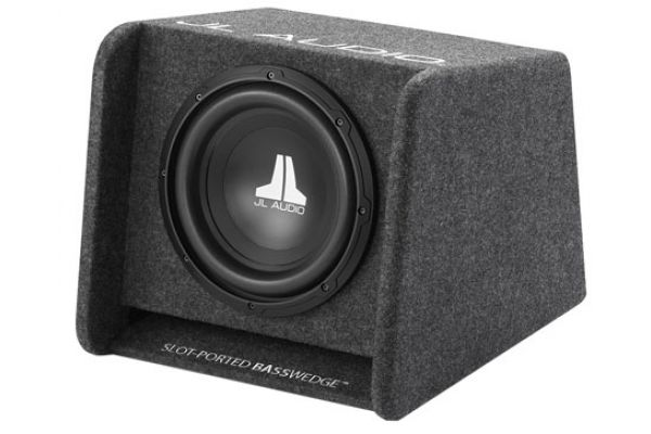 "Large image of JL Audio 10"" BassWedge Subwoofer Gray - 93264"