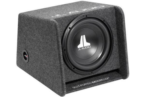 "Large image of JL Audio 12"" BassWedge Subwoofer Gray - 93281"