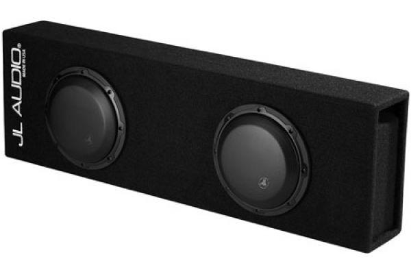 """Large image of JL Audio 8"""" Dual 8W3v3 Enclosure Subwoofer - 93295"""