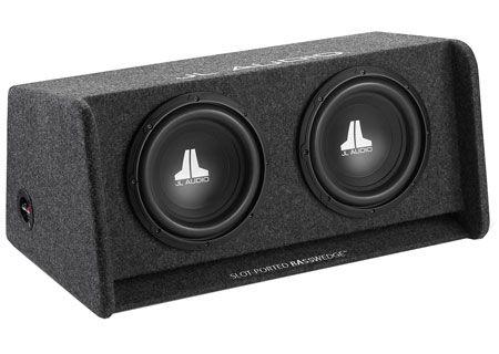 "JL Audio 10 "" BassWedge Enclosure Subwoofer - CP210-W0V3"