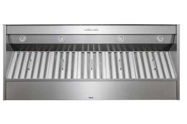 "Large image of Best 60"" Brushed Stainless Steel Hood Liner Insert  - CP57E602SB"