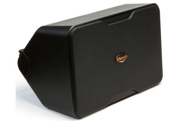 Klipsch Black Performance Series Outdoor Speakers (Pair) - CP-6BK
