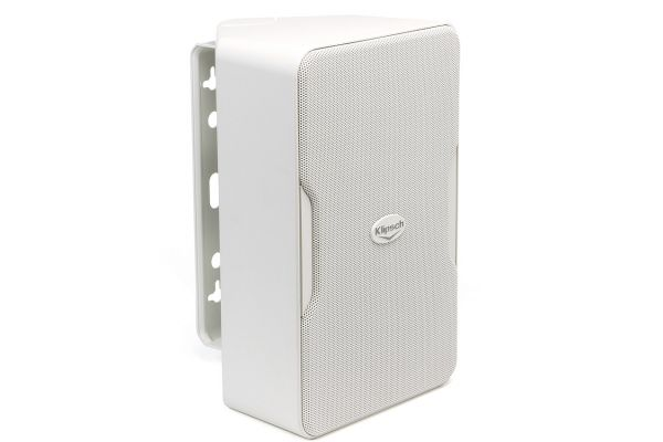 Large image of Klipsch Compact Performance Series White Indoor/Outdoor Loudspeakers (Pair) - 1060388