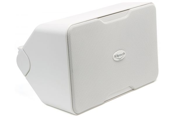 Large image of Klipsch White Performance Series Outdoor Speakers (Pair) - 1060387