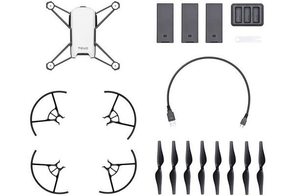 Large image of Ryze Tech Tello Boost Combo White Quadcopter - CP.TL.00000014.01