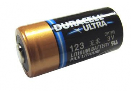 Duracell - CR123A-DL123A - Digital Camera Batteries & Chargers
