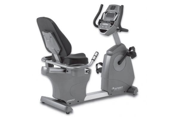 Spirit Fitness CR800 Grey Fitness Bike - CR800
