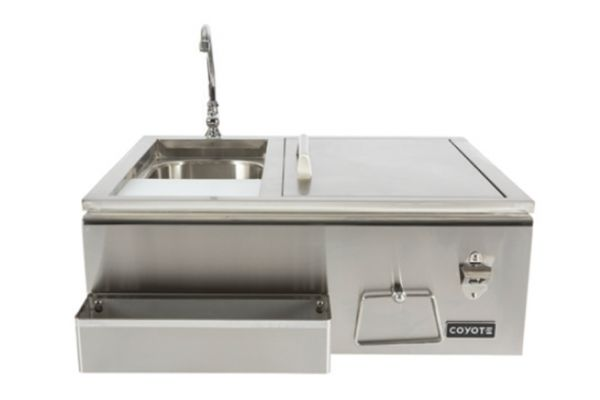 Large image of Coyote Stainless Steel Outdoor Refreshment Center - CRC