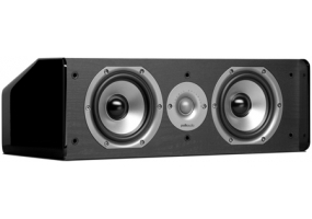 Polk Audio - CS10 Black - Center Channel Speakers