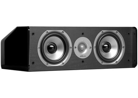 Polk Audio - CS10 Black - Center Channel Speakers