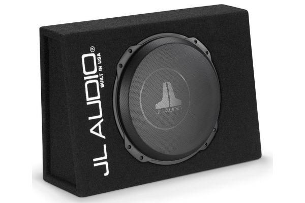 """Large image of JL Audio Single 12"""" PowerWedge 2 Ohm Sealed Car Subwoofer Enclosure - 93303"""