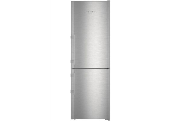 """Large image of Liebherr 24"""" Stainless Steel Right Hinge Bottom Freezer Refrigerator With NoFrost - CS-1210"""