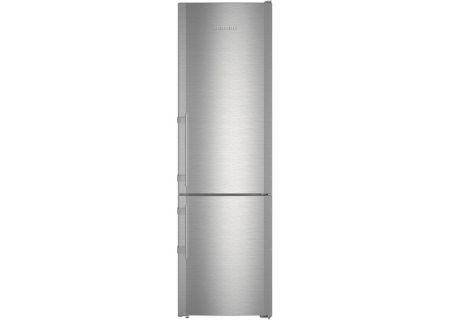 """Liebherr 24"""" Stainless Steel Bottom Freezer Refrigerator - CS-1321-R"""