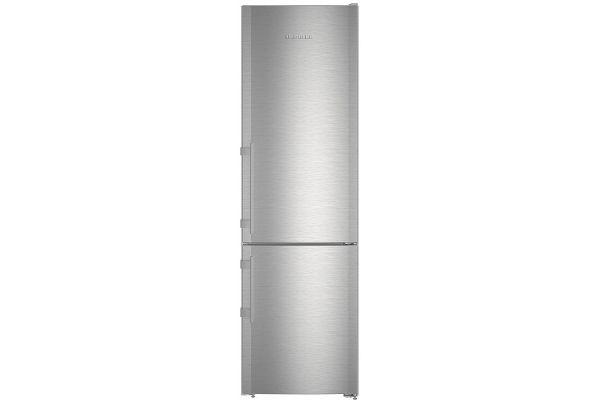 "Large image of Liebherr 24"" Stainless Steel Left-Hinge Fridge-Freezer With NoFrost - CS-1360B-L"