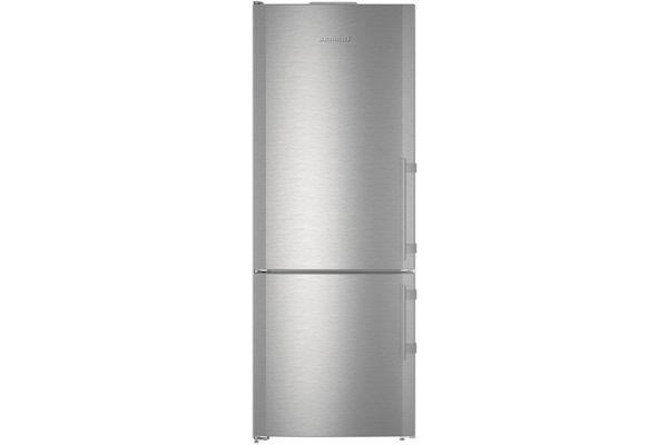 "Large image of Liebherr 30"" Stainless Steel Left-Hinge Fridge-Freezer With NoFrost - CS-1640B-L"