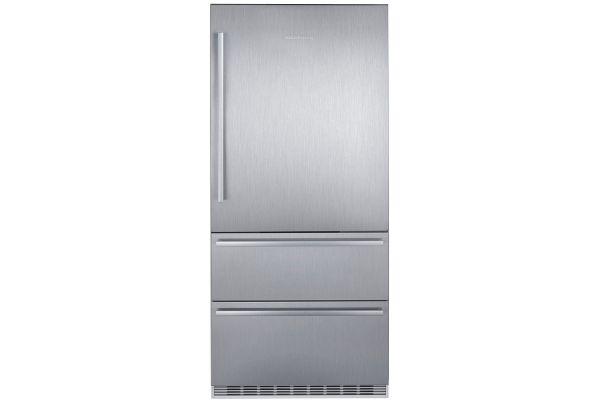 """Liebherr 36"""" Stainless Steel Bottom Freezer Refrigerator - CS-2080"""