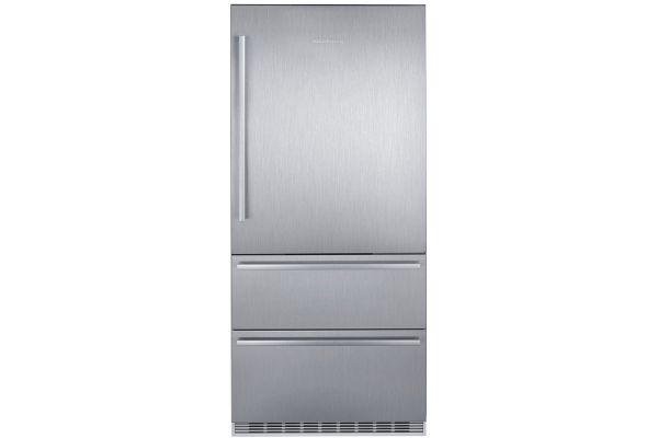 "Large image of Liebherr 36"" Stainless Steel Right-Hinge Fridge-Freezer With NoFrost - CS-2080"