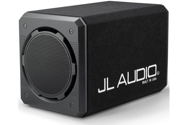 JL Audio ProWedge Enclosed Subwoofer System With Dual 12W6v3-D4 Subwoofer Driver - 93309