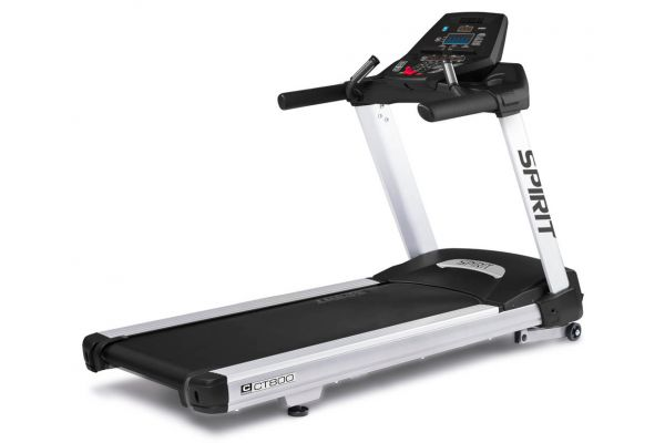 Large image of Spirit Fitness CT800 Grey Treadmill - CT800