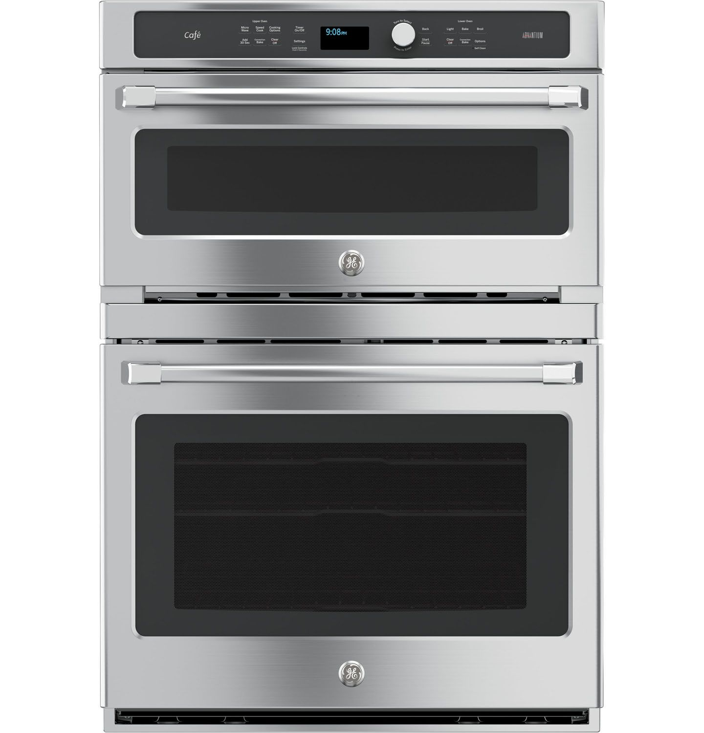 Ge Cafe 30 Quot Stainless Steel Double Wall Oven Ct9800shss