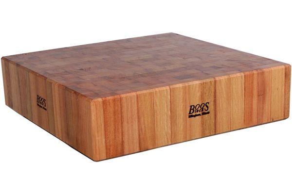 "Large image of John Boos & Co. Cuccina Laforza 6"" Maple Butcher Block - CUCLA24T"