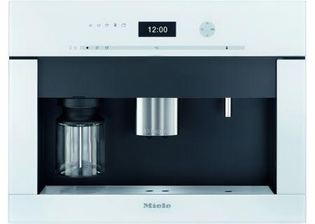 """Miele 24"""" Brilliant White Built-In Coffee System  - CVA6401WH"""