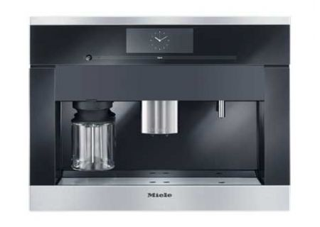 """Miele 24"""" Non Plumbed Built-In Coffee System - CVA6800SS"""