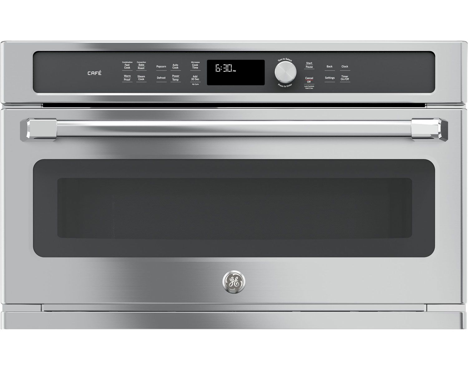 Ge Cafe Series Built In Stainless Steel Microwave Convection Oven Cwb7030slss