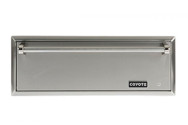 Large image of Coyote Stainless Steel Outdoor Warming Drawer - CWD