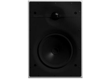 "Bowers & Wilkins CI 300 Series 6"" White In-Wall Speakers - CWM362"