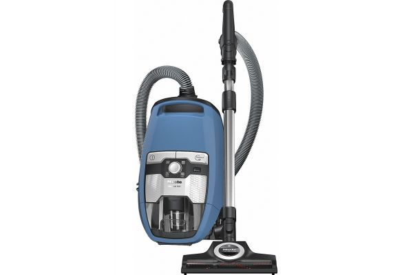 Large image of Miele Blizzard CX1 Turbo Team PowerLine Blue Canister Vacuum - 10829400