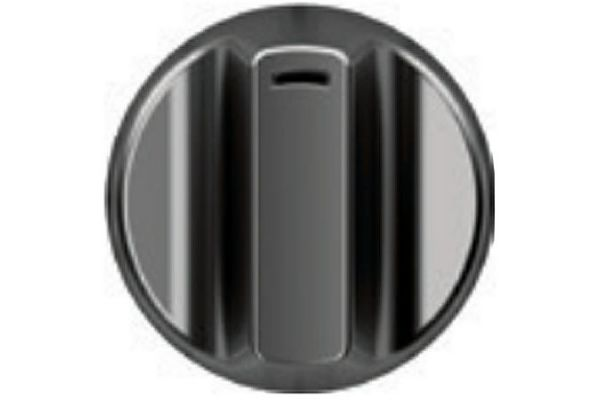 Large image of Cafe 5 Brushed Black Gas Cooktop Knobs - CXCG1K0PMBT