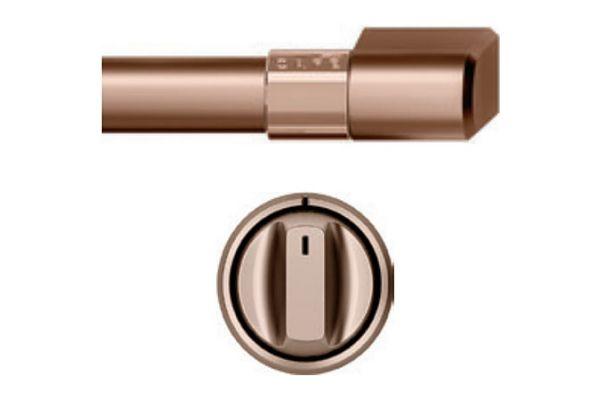 """Cafe 36"""" Brushed Copper Handle & Knob Set For Pro Range - CXPR6HKPMCU"""