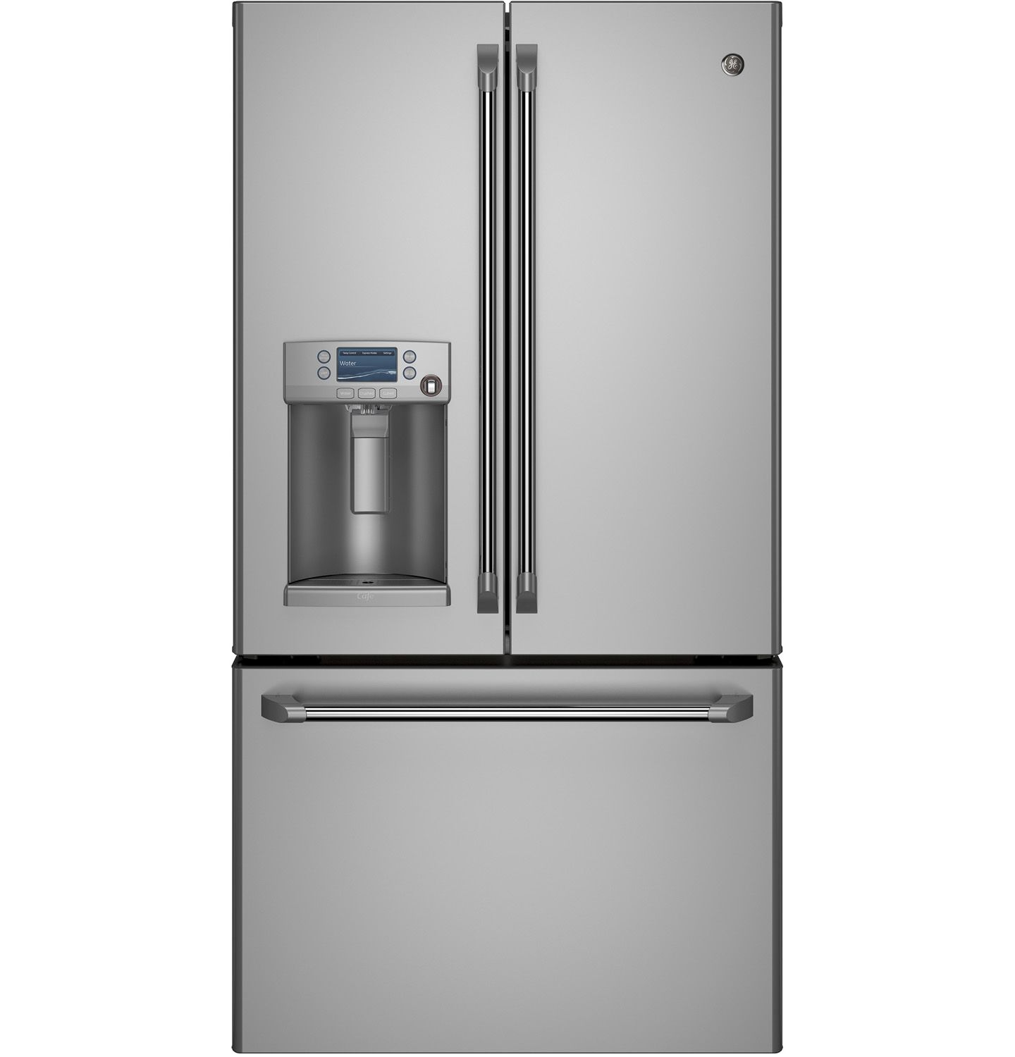 GE Cafe Counter French-Door Refrigerator - CYE22TSHSS