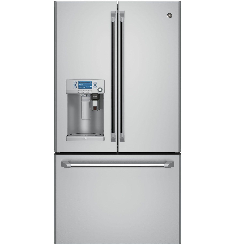 Ge cafe stainless french door refrigerator cye22ushss ge cafe cye22ushss french door refrigerators rubansaba