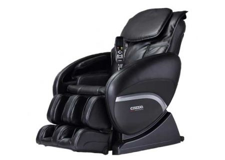 Cozzia 2D Black Reclining Massage Chair - CZ388BLK