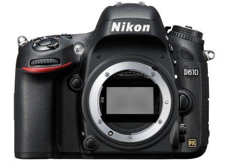 Nikon D610 24.3 MP Black Digital SLR Camera - 1540
