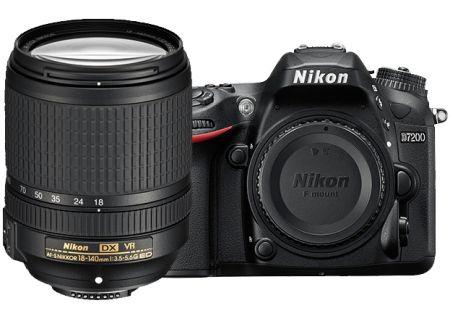 Nikon D7200 24 Megapixel Digital SLR Camera With 18-140mm VR Lens Kit  - 1555